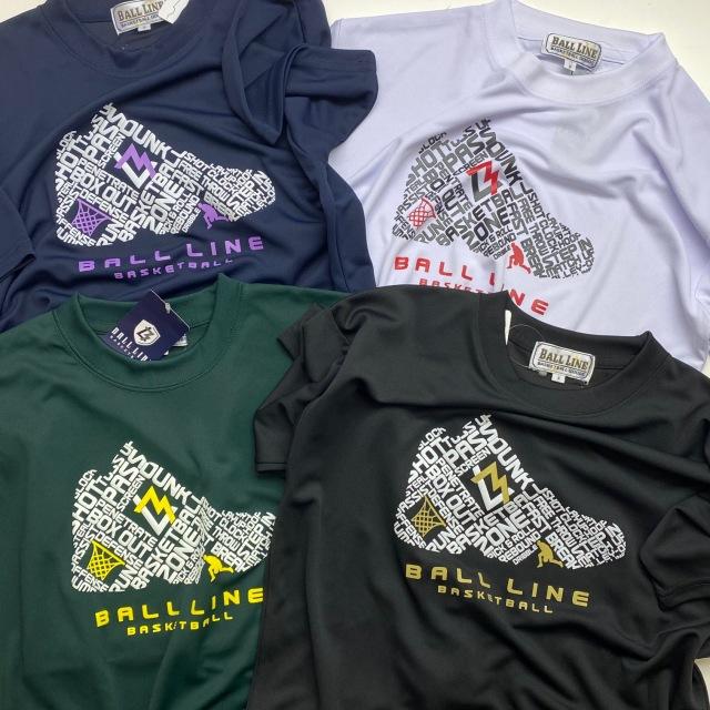 BT-1334 / 【2021春夏新作】 BALL LINE / Tシャツ / ボールライン / 半袖