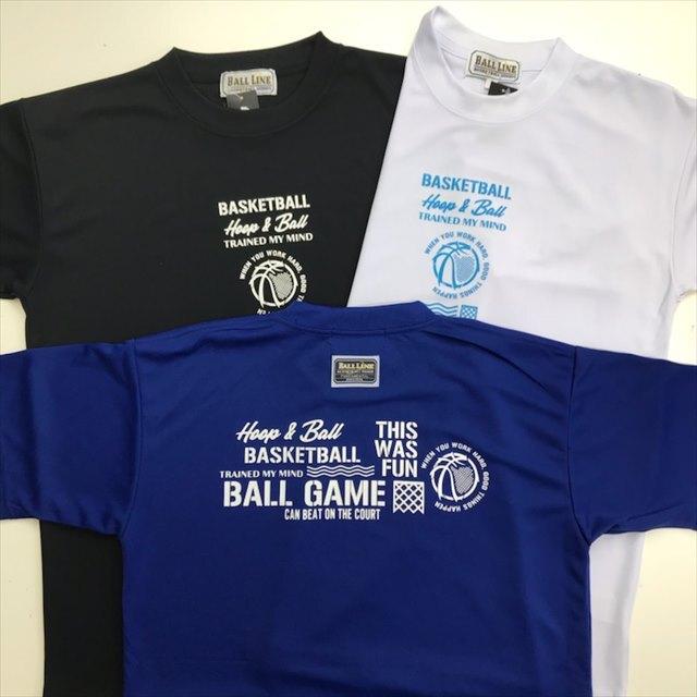 BGT-2102 /【2021春夏新作】 / BALL GAME / 当店限定商品 / BALL LINE(ボールライン)×STEP BY STEP / Tシャツ