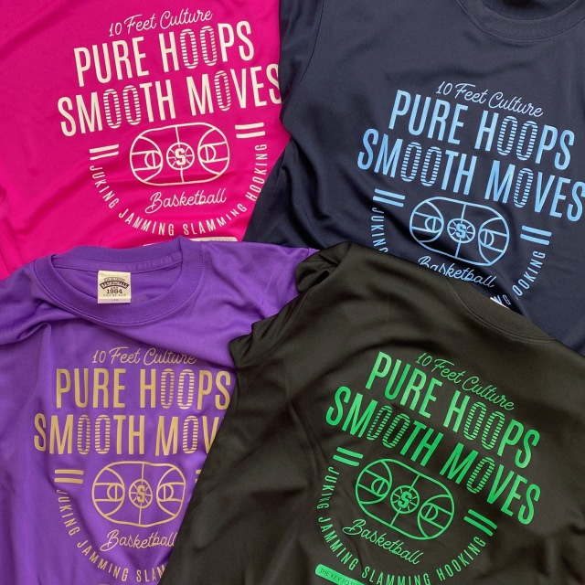 PHT-2102 /【2021春夏新作】 / PURE HOOPS / ピュアフープス / 当店限定商品 / STEPBYSTEP / Tシャツ