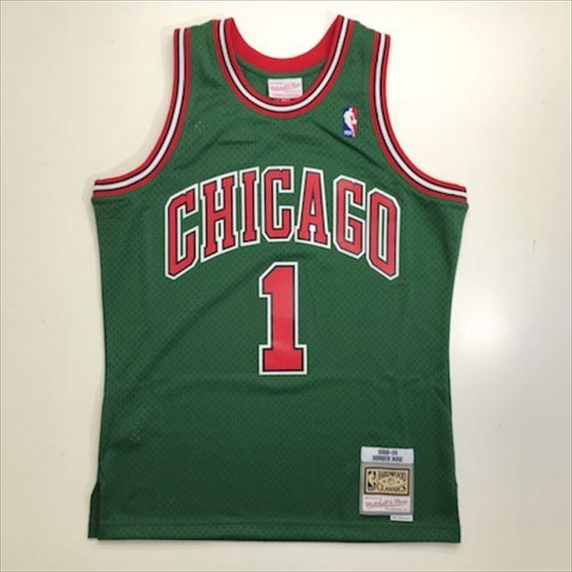 MN4KJT73 / Mitchell & Ness / CHICAGO BULLS / シカゴブルズ /  NBA / スウィングマンジャージ DR / グリーン