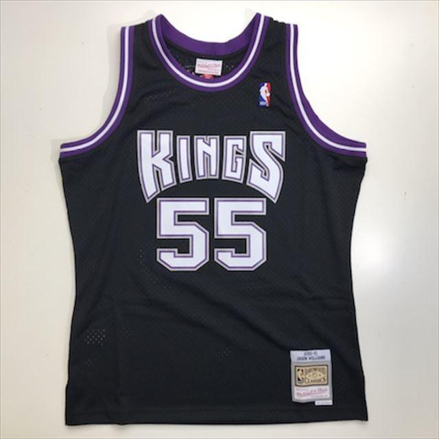 MN41JT65 / Mitchell & Ness / ミッチェル&ネス/ Sacramento Kings / サクラメント・キングス / NBA / スウィングマンジャージ JW / ブラック