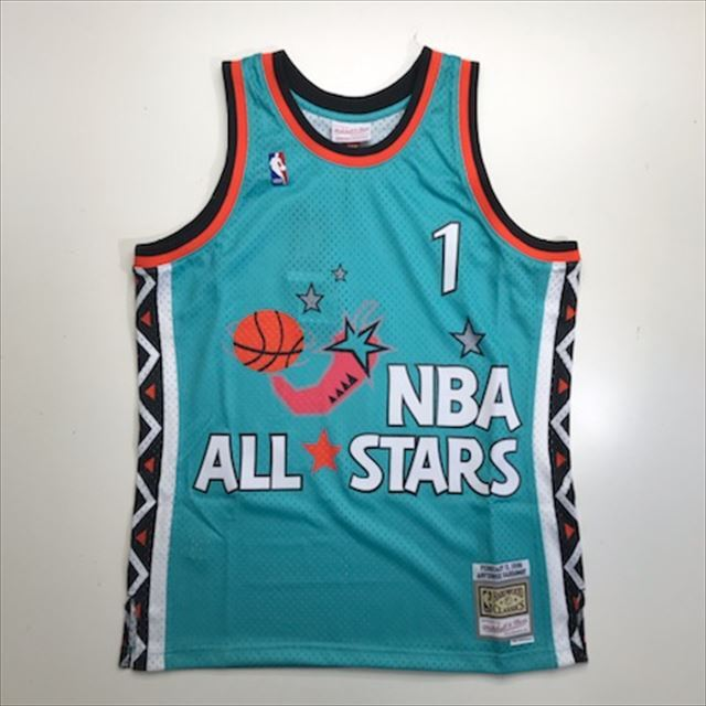 MN4KJT94 / Mitchell & Ness / NBA ALL STAR GAME / 1996 NBAオールスターゲーム /  PENNY HARDAWAY (ペニーハーダウェイ)  / NBA / スウィングマンジャージ SO / ターコイズ