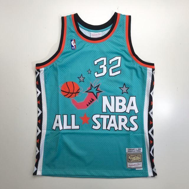 MN4KJT93 / Mitchell & Ness / NBA ALL STAR GAME / 1996 NBAオールスターゲーム /  NBA / スウィングマンジャージ SO / ターコイズ