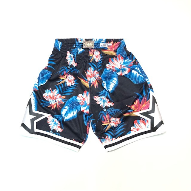 MN41JC49 / Mitchell & Ness / NBA FLORAL SHORTS /ショーツ/ ミッチェル&ネス