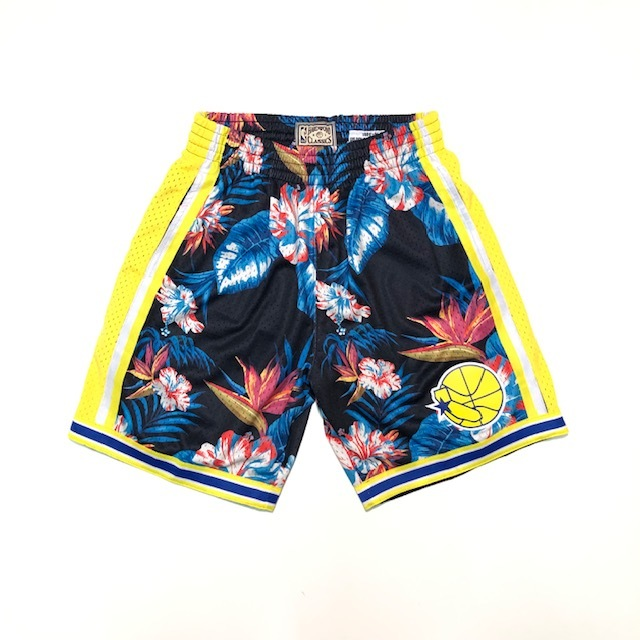 MN41JC46 / Mitchell & Ness / NBA FLORAL SHORTS /ショーツ/ ミッチェル&ネス