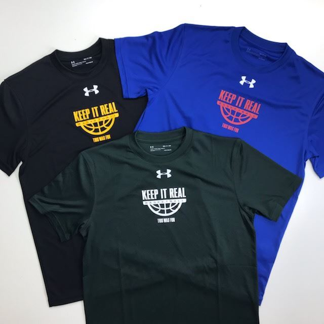 UAOKT-2101 / 【2021春夏新作】 UNDER ARMOUR / アンダーアーマー / Tシャツ / STEP BY STEP オリジナル /  KEEP IT REAL