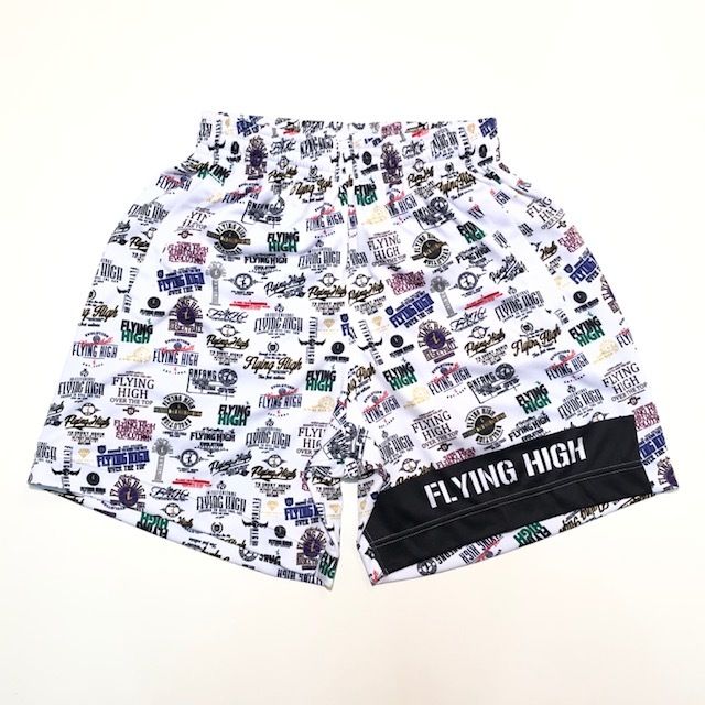 FHSUP910 / FLYING HIGH EMBLEM COLLECTION【2019春夏新作】 / FLYING HIGH  / PANTS / フライングハイ / ON THE COURT×STEP BY STEP / 当店限定コラボ商品 / STEP BY STEP オリジナル / 昇華パンツ / ポケット付