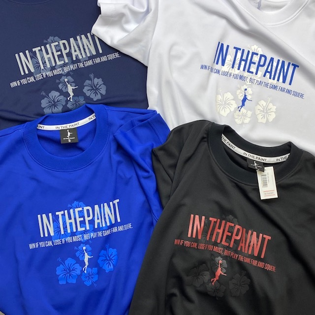 ITPT-2101 / 【2021春夏新作】 IN THE PAINT / T-SHIRTS / STEP BY STEP オリジナル / IN THE PAINT(インザペイント)×STEP BY STEP / 当店限定コラボ商品 / プラクティスTシャツ