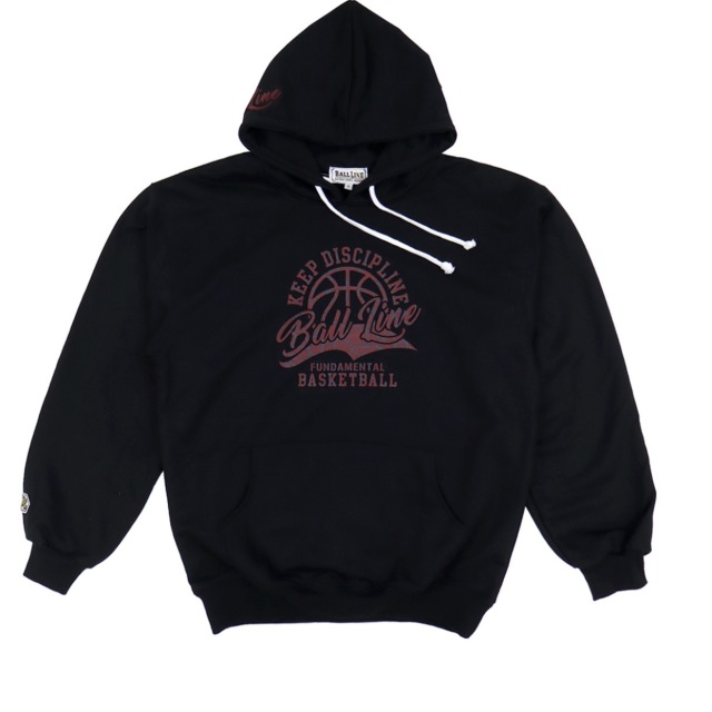 BLSS-2182 / 【2019秋冬新作】 BALL LINE / BASIC HOODED SWEAT SHIRT / パーカー / ボールライン