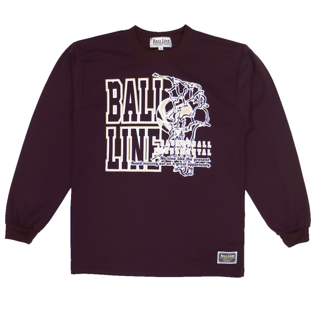 BT-6183 / 【2019秋冬新作】 BALL LINE / BASIC LONG SLEEVE SHIRT / ロングスリーブシャツ / ロンT / ボールライン
