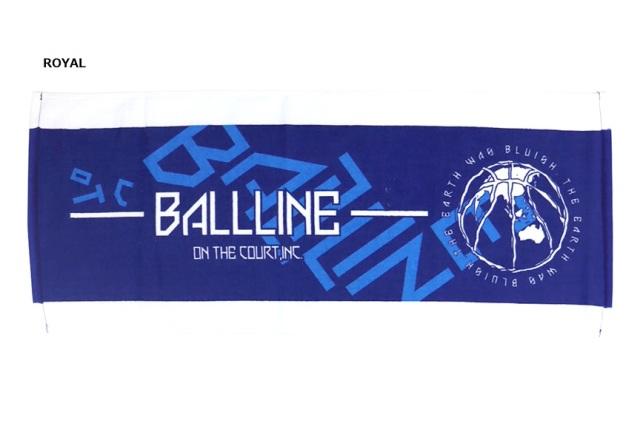 TWL-383 / 【2019秋冬新作】 BALL LINE / SPORTS TOWEL / タオル / ボールライン