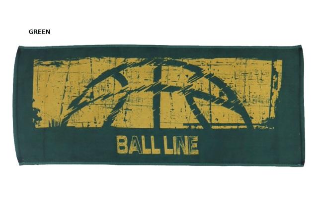 TWL-385 / 【2019秋冬新作】 BALL LINE / SPORTS TOWEL / タオル / ボールライン