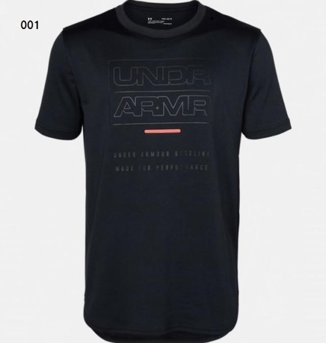 1346808 / 【2019秋冬新作】 / UNDER ARMOUR / アンダーアーマー / ユース ベースライン テック ショートスリーブ  / Tシャツ / KIDS / キッズ