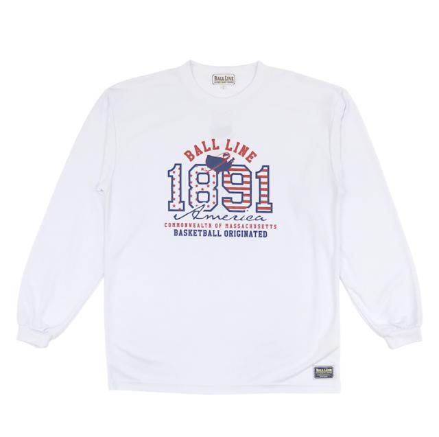 BT-6171 / 【2019秋冬新作】 BALL LINE / BASIC LONG SLEEVE SHIRT / ロングスリーブシャツ / ロンT / ボールライン