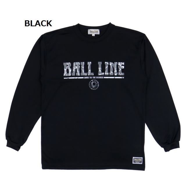 BT-6173 / 【2019秋冬新作】 BALL LINE / BASIC LONG SLEEVE SHIRT / ロングスリーブシャツ / ロンT / ボールライン