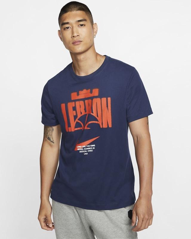 CD0970-410 / NIKE /ナイキ / メンズ / バスケットボール / Tシャツ / ナイキ Dri-FIT レブロン・ジェームズ