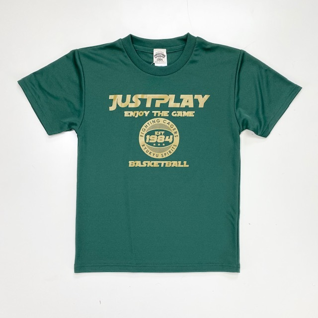 JST-2001 / 【2020春夏新作】 / JUST PLAY / ジャストプレイ / STEP BY STEP オリジナル / Tシャツ / プラクティスシャツ