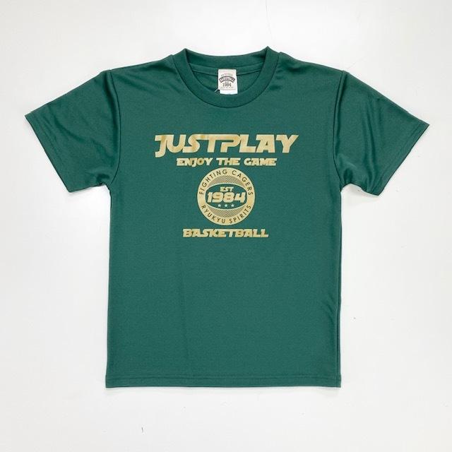 JST-2001 / 【2020春夏新作】 / JUST PLAY / ジャストプレイ / STEP BY STEP オリジナル / Tシャツ / プラクティスシャツ