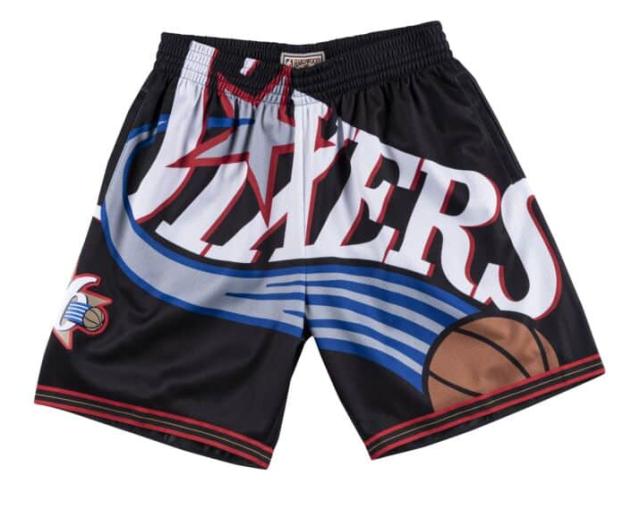 MN43JC66 / Mitchell & Ness /ミッチェル&ネス / Philadelphia 76ers /フィラデルフィア76ers /パンツ