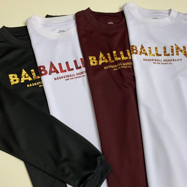 NBT-6365 /【2021秋冬新作】 / BALL LINE  / BASIC  LONG SLEEVE SHIRT(SLIM) / ボールライン / ロングスリーブシャツ(スリム)