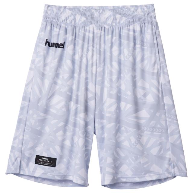 HAPB6020 / hummel / 【2019秋冬新作】 / バスケット昇華ハーフパンツ / ヒュンメル / パンツ