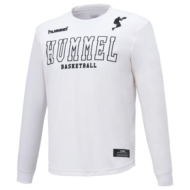 HAPB7011 / hummel / 【2019秋冬新作】 / バスケット昇華ロングTシャツ / ヒュンメル / ロンT