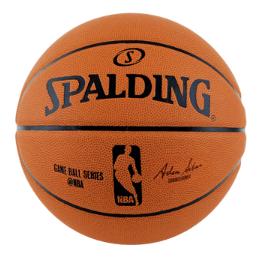SMF2019BALL/SPALDING/ゲームボールレプリカ ラバー 5号球 NBAロゴ入り /バスケットボール/NBA