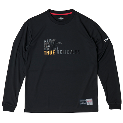 SMT181010L/S Tシャツ TBREALITES/ SPALDING  / バスケットボール / スポルディング / ロングスリーブシャツ