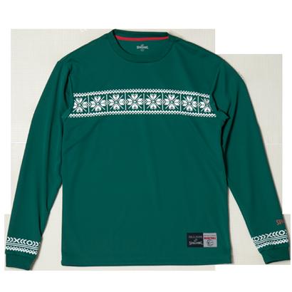 SMT181200L/S Tシャツ NORDIC/ SPALDING  / バスケットボール / スポルディング / ロングスリーブシャツ