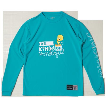 SMT181380L/S Tシャツ TWEETY/ SPALDING  / バスケットボール / スポルディング / ロングスリーブシャツ/TWEETY