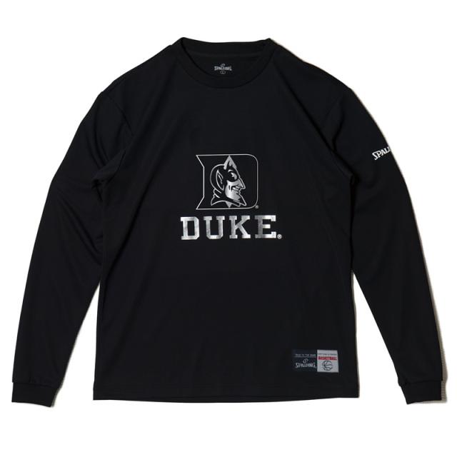 SMT181490L/S Tシャツ DUKE/ SPALDING  / バスケットボール / スポルディング / ロングスリーブシャツ/DUKE