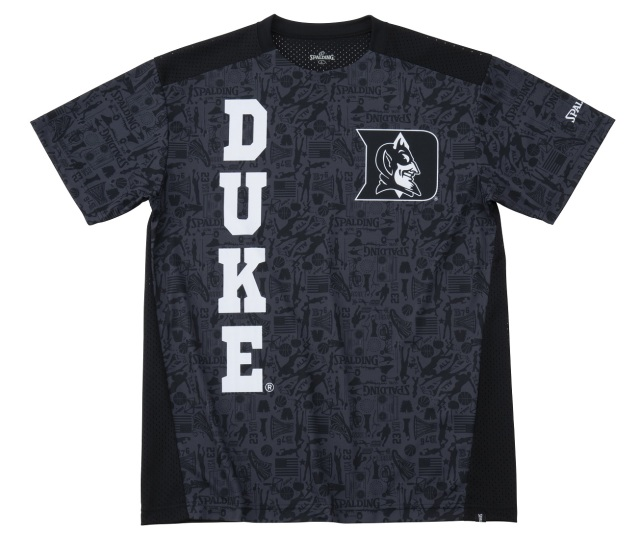 SMT191260 / DUKE / SPALDING プラクティスTシャツ / デューク グラフィティ / バスケットボール / スポルディング