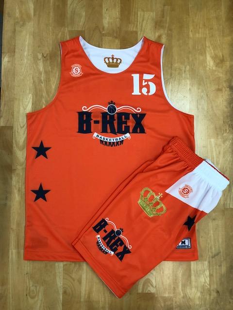 【デザインサンプル】 B-REX(沖縄県一般クラブチーム) 昇華リバーシブル