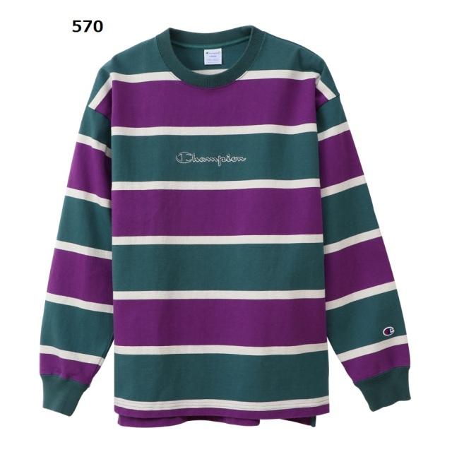 C3-Q410 / Champion / ロングスリーブTシャツ / アクションスタイル / ロンT / 19FW 【秋冬新作】 / チャンピオン