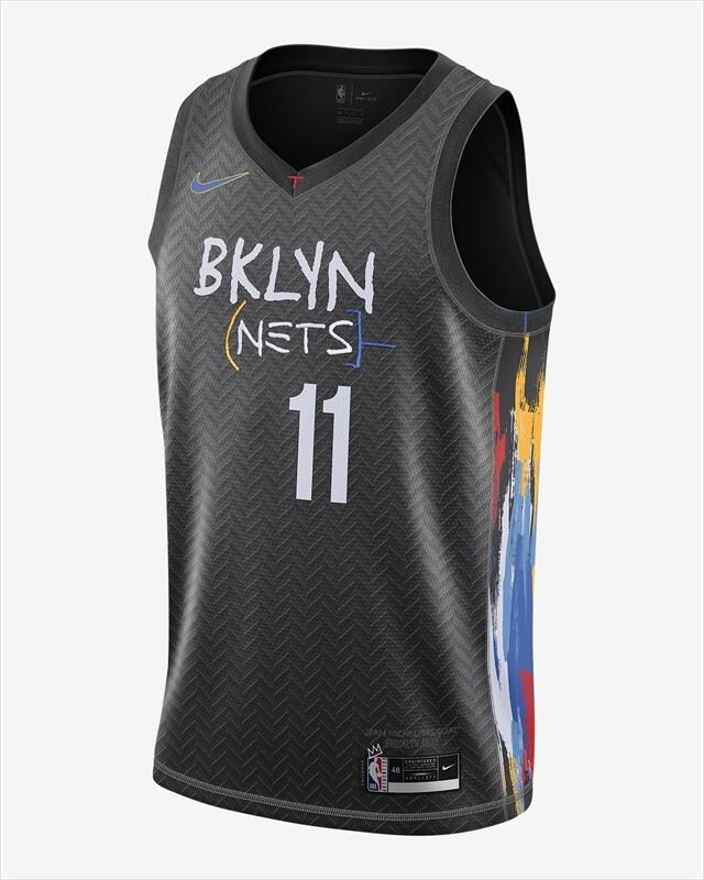 CN1713-018 / ナイキ NBA スウィングマン ジャージー / ブルックリン ネッツ シティ エディション