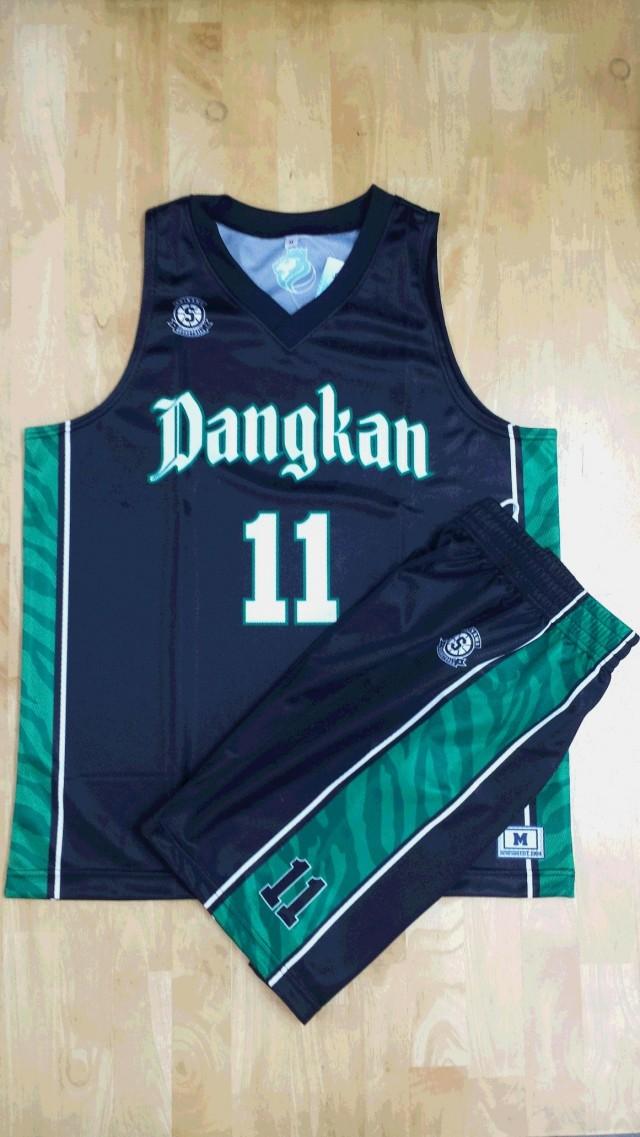 【デザインサンプル】 DANGKAN(沖縄県クラブチーム) 昇華ユニフォーム(濃淡)