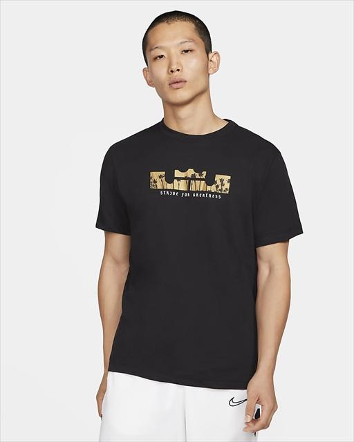 DB6179-011 / ナイキ Dri-FIT レブロン ロゴ / Tシャツ / NIKE LBJ / バスケットボール