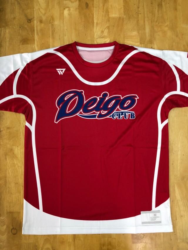 【デザインサンプル】 デイゴ(一般野球チーム) 昇華Tシャツ