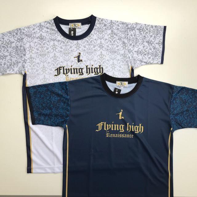 FHSUT-2102 / 【2021春夏新作】 FLYING HIGH / フライングハイ / Tシャツ / STEP BY STEP オリジナル / Renaissance(ルネサンス)