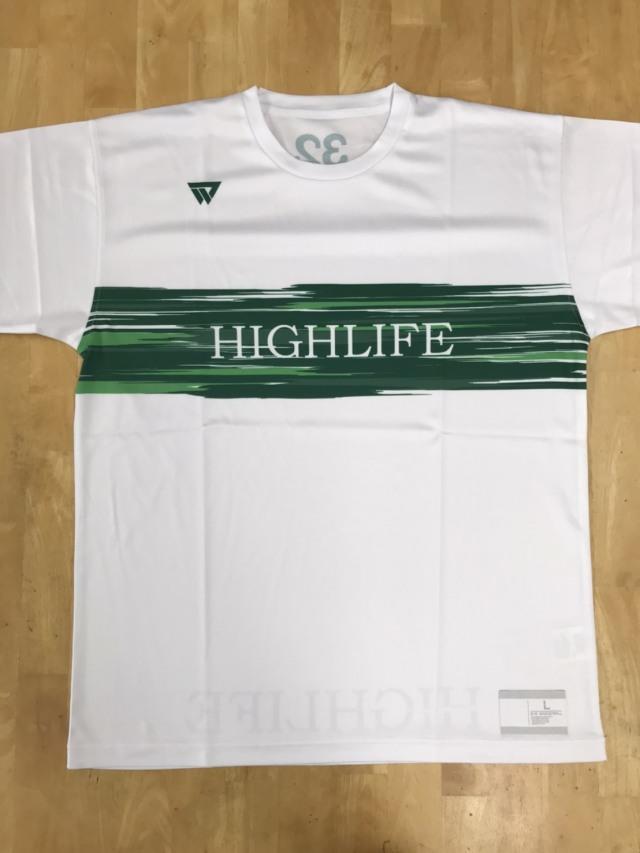 【デザインサンプル】 HIGH LIFE(一般) 昇華Tシャツ