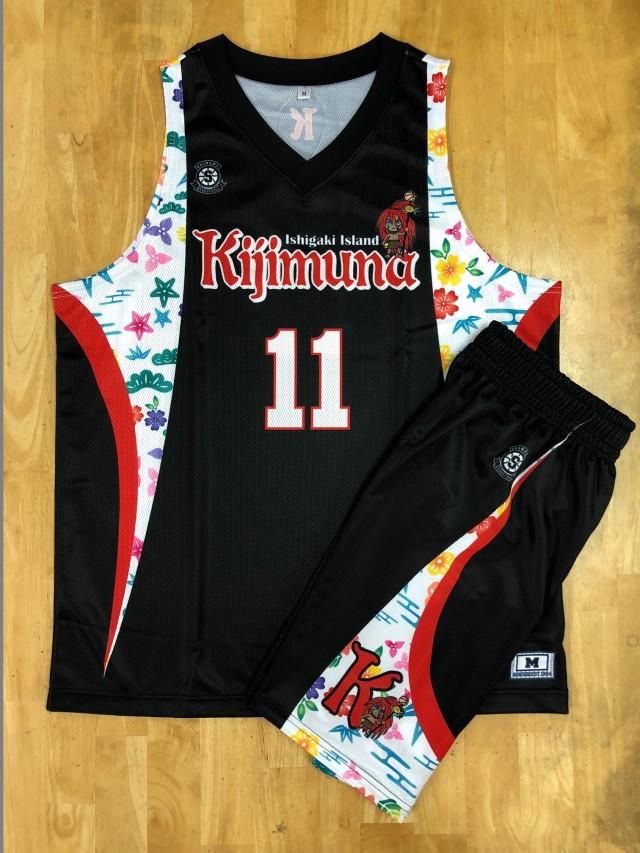【デザインサンプル】 Kijimuna(一般クラブチーム) 昇華ユニフォーム