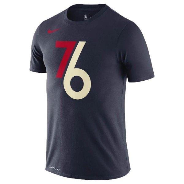 BV8929-419 / NIKE /ナイキ / メンズ / バスケットボール / Tシャツ / Dri-FIT / フィラデルフィアセブンティシクサーズ