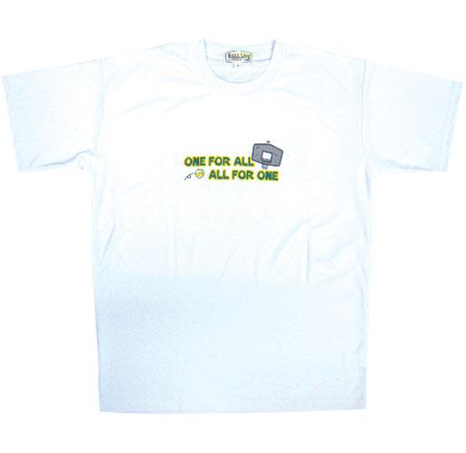 【デザインサンプル】 仲井真中学校(女子)チームTシャツ