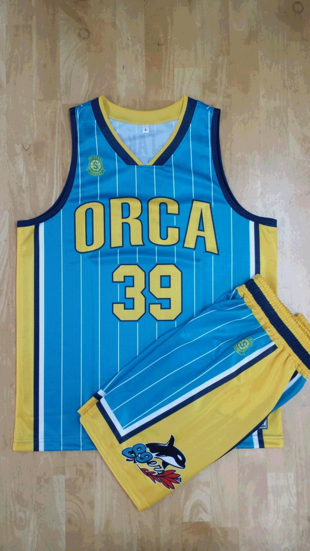 【デザインサンプル】 ORCA 89ERS(沖縄県一般クラブチーム) 昇華ユニフォーム