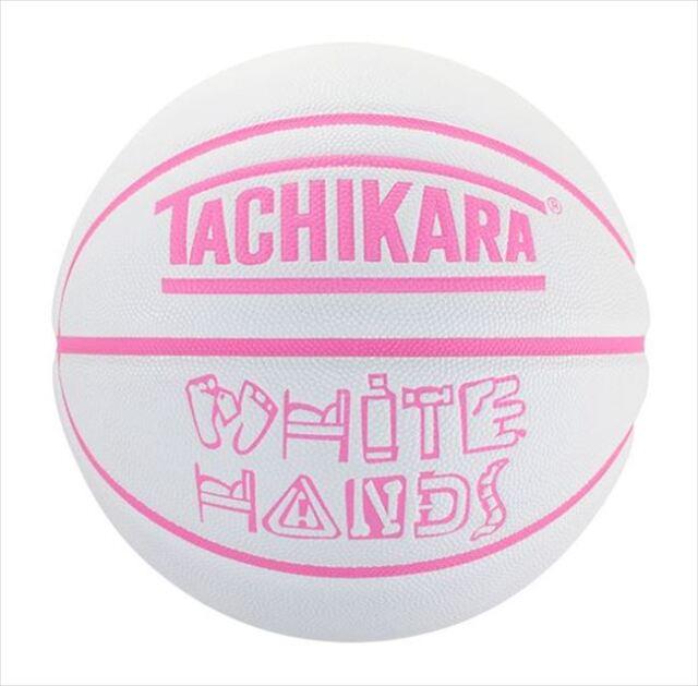 SB6-207 WHITE HANDS size6 TACHIKARA 6号 / バスケットボール / アウトドア / 合成皮革