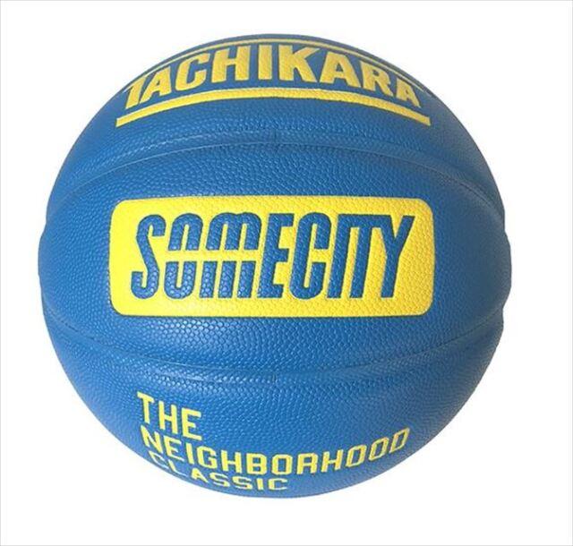 SB7-108 SOMECITY OFFICIAL GAME BALL TACHIKARA 7号 / バスケットボール / SOMECITY / 最高級屋内用合成皮革