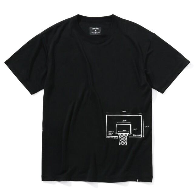 SMT210230 / 【2021春新作】 SPALDING / スポルディング / Tシャツ / ディメンション
