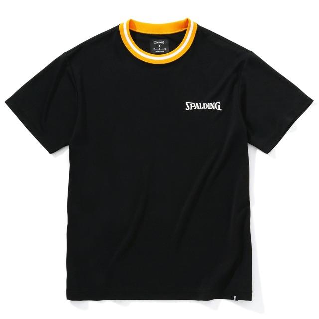 SMT210270  / 【2021春新作】 SPALDING / スポルディング / Tシャツ / トリムカラー