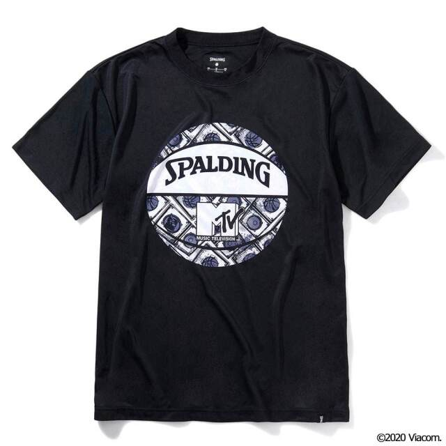 SMT210340 / 【2021春新作】 SPALDING / スポルディング / Tシャツ / MTV / ミュージックミキシング