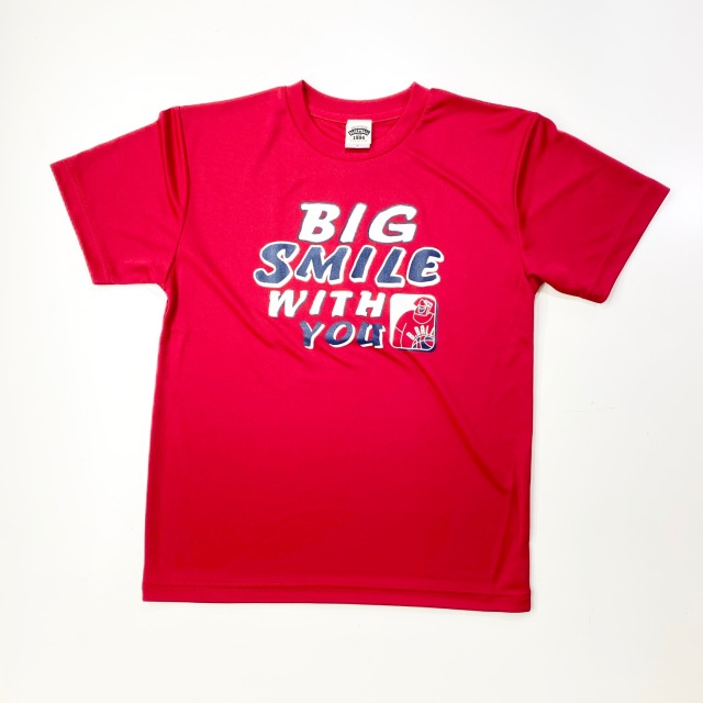 BST-2001 / 【2020夏新作】 / BIG SMILE WITH YOU / ビッグスマイルウィズユー / STEP BY STEP オリジナル / Tシャツ / プラクティスシャツ